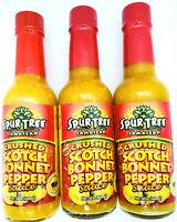 Spur Tree Jamaican Crushed Scotch Bonnet Pepper Sauce(3x1)148 ml 5 fl oz bottles