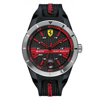 NEW MEN'S FERRARI SCUDERIA ANALOG SPORTS WATCH 0830253