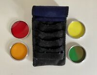ENTECO MADE IN USA COLOURFUL CAMERA LENS FILTERS IN POUCH