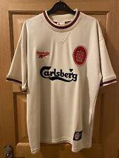 Liverpool FC Retro Away Shirt 1996-1997 Mens Size Large