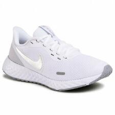 Scarpe Ginnastica Nike Revolution Donna Sport Run Running White Bianco Silver