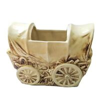 Vintage McCoy COVERED WAGON COOKIE JAR 1960