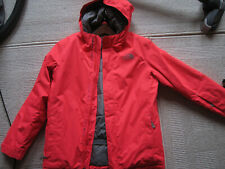 Skijacke Snowboard Jacke Kinder The North Face Neon Pink/Orange