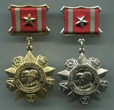 Russian Soviet Order Medal for Distinguished Military Service 1st, 2nd Class.