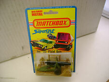 1976 MATCHBOX LESNEY SUPERFAST #32 FIELD GUN NEW MOC