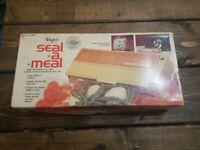 Vintage 1976 Dazey Seal-a-meal Model SAM 1  in Original Box w/ 3 Boxes of Bags