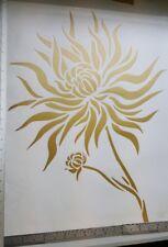 Pegatina Pared Arte Animal Flor silouhette mural vinilo Calcomanía
