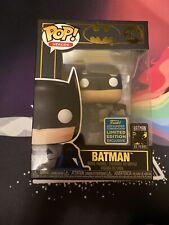 Batman w/ bag 2019 Summer Convention Exclusive Funko POP!