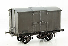 D.C.LAWRENCE OO GAUGE WEATHERED GREY 12T SLIDING ROOF VENTILATED VAN