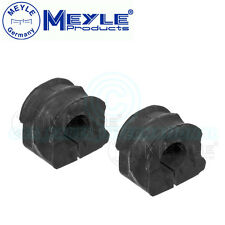 2x Meyle (Germany) Anti Roll Bar Bushes Front Axle Left & Right No: 100 411 0033