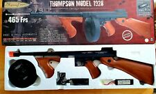 New listing Thompson M1928 Full Metal AEG Airsoft SMG Tommy Gun Toy Chicago Typewriter