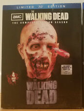 THE WALKING DEAD Second Season Blu-ray OOP McFarlane Toys Zombie Head Replica