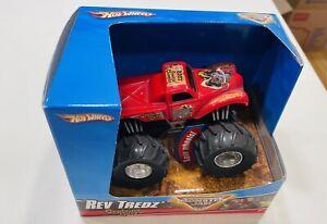 2007 Hot Wheels Monster Jam Rev Tredz Captain's Curse Truck - Brand New