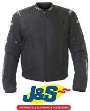 RST R-16 TEXTILE MOTORCYCLE JACKET SPORTS MOTORBIKE SALE RRP £109.99 BLACK