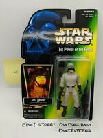 Kenner Star Wars Hologram Green Power Of The Force AT-ST Driver Action Figure #2