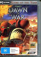 Warhammer 40,000: Dawn of War - PC Game manual inc