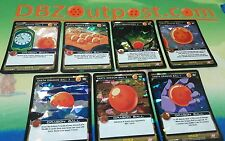 Dragon Ball Z DBZ CCG Tcg Panini Awakening Foil Earth Dragonball set 1-7