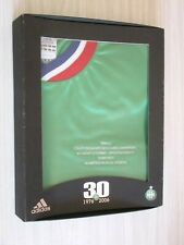 COFFRET MAILLOT ASSE ST-ETIENNE FINALE 1976 GLASGOW C1 ADIDAS XL 30 ANS 2006