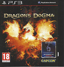 DRAGON'S DOGMA for Playstation 3 PS3 - with box & manual