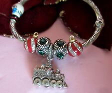 Brighton Chilly All Aboard Christmas Express Train Charm Bracelet Gift Set Nwt