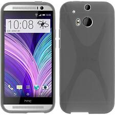 Coque en Silicone HTC One M8 - X-Style gris Case