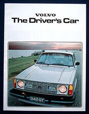 Prospekt brochure 1979 Volvo Programm (USA)