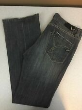 Vigoss Studio Boot Stretch Button Fly Jeans - Medium Wash - Size 30