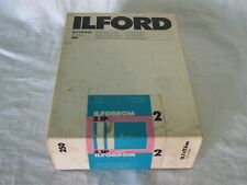 Ilford Ilfobrom 2.1p White Glossy 5x7 in. Photographic Paper 250 sheets expired