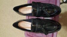 Zara Platform Loafers Shoes Size 38