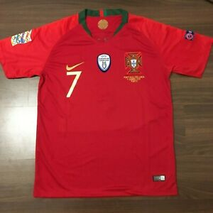 Nike Portugal Nations League FINALS GAME Cristiano Ronaldo #7 Jersey size M