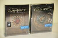 Game of Thrones Season 5 and 6 Blu-ray Steelbook w/Collectible Magnet (Region A)