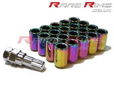 Petrol Tuner Wheel Nuts x 20 12x1.25 Fits Subaru Impreza STI WRX GT86