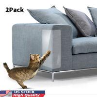 US 2X Pet Cat Couch Sofa Furniture Anti-Scratching Protector Guard Scratchers SP