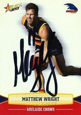 ✺Signed✺ 2013 ADELAIDE CROWS AFL Card MATTHEW WRIGHT