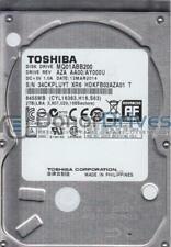 MQ01ABB200, AA00/AY000U, HDKFB02AZA01 T, Toshiba 2TB SATA 2.5 Hard Drive