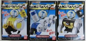 Bandai Candroid 2 (Candy) Kamen Rider OOO Complete 3 Type Set Candroid 2