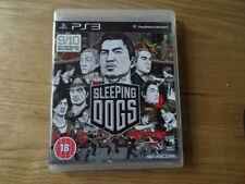 PS3 Playstation 3 Pal Game SLEEPING DOGS