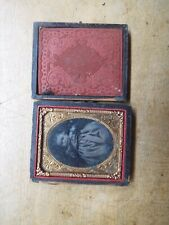 Antique Tintype of Young Child in Case Lot B