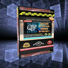 Styles Yamaha QY100 Library Vol 01 - 500 NEW Styles for QY100 2xSM Cards