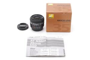 【TOP MINT in BOX】 Nikon AF Nikkor 35mm f2 D Wide Angle AF Lens from Japan #1033