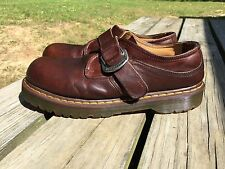 Dr. Doc Martens 8314 Casual Buckle Monk Strap Oxford Loafers Men's UK 11 (US 12)