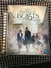 Fantastic Beasts and Where To Find Them with Niffler Statue (3D Blu-ray) New