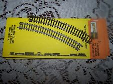 """Lot of Atlas """"N"""" Gauge Track 36 PC's 9 3/4"""" Radius curved #2510 and 12 straight"""