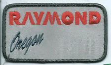 Raymond Forklift Oregon employee patch forklifts & pallet jacks 2-1/2 X 4-1/2