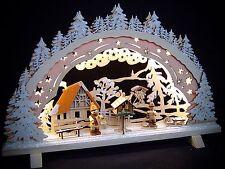 3d LED ARCOS DE LUCES arbotantes Motivo Bosque con nieve 44x27 SMD Band 10179