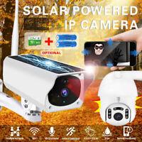 HD 1080P Wifi Solar Camera Security Camera Outdoor CCTV Network Waterproof W/64G