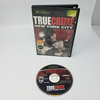 True Crime: New York City ( Microsoft Xbox, 2005) Tested Working Great Condition
