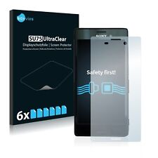 6x Savvies Screen Protector for Sony Xperia M4 Aqua Ultra Clear