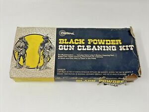 Outers Black Powder Gun Cleaning Kit For Muzzleloaders In Box P-144