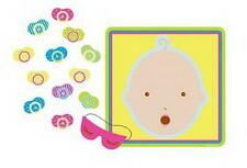 Beistle 66675 Pin The Pacifier Baby Shower Game 17 X 18.5